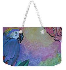 Parrot In Paradise Weekender Tote Bag