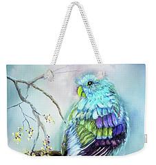 Parrot Weekender Tote Bag by Loretta Luglio