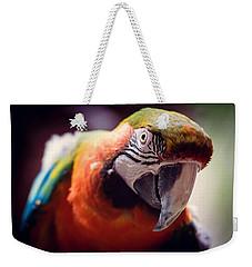 Parrot Selfie Weekender Tote Bag