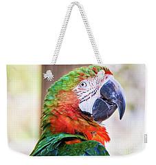 Parrot Weekender Tote Bag by Stephanie Hayes