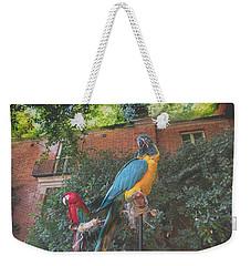 Parrots In The Garden Weekender Tote Bag