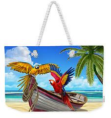 Parrots Of The Caribbean Weekender Tote Bag