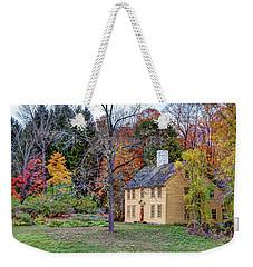 Parson Barnard House In Autumn Weekender Tote Bag