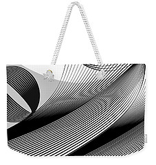Part Of Sentence Weekender Tote Bag by Leo Symon