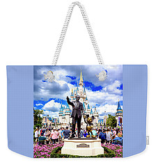 Weekender Tote Bag featuring the photograph Partners Two by Greg Fortier