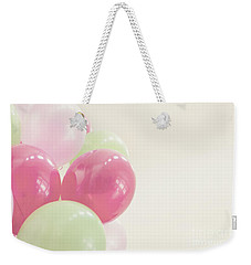 Party Balloons Weekender Tote Bag by Cindy Garber Iverson