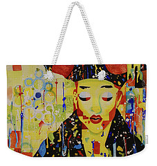 Party Girl Weekender Tote Bag by Cynthia Powell