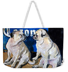 Party Girls Weekender Tote Bag by Molly Poole