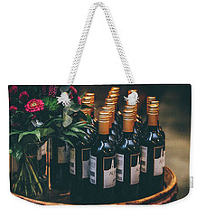 Party Weekender Tote Bag by Happy Home Artistry