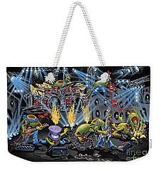 Party Like A Rockstar Weekender Tote Bag by Michael Godard