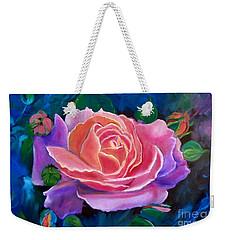 Gala Rose Weekender Tote Bag by Jenny Lee