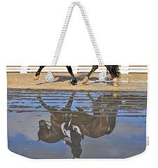 Pas De Deux Reflected Weekender Tote Bag