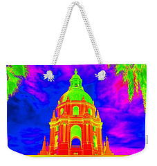 Surreal City Hall Weekender Tote Bag