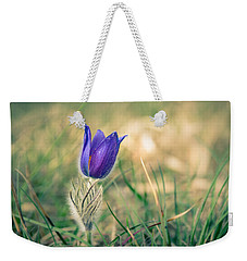 Pasque Flower Weekender Tote Bag