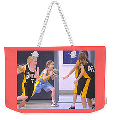 Pass The Ball Weekender Tote Bag