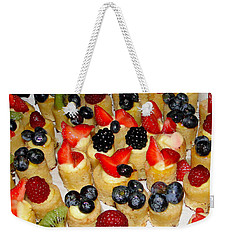 Pass The Dessert Weekender Tote Bag