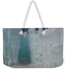 Passageway In The Ice Castle Weekender Tote Bag