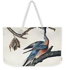 Passenger Pigeon Weekender Tote Bag by John James Audubon