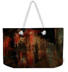 Passers In The Night Weekender Tote Bag