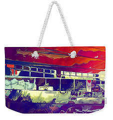 Passing Attraction Weekender Tote Bag