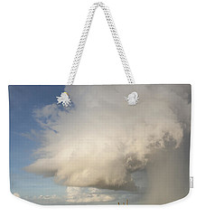 Passing Late Afternoon Rain Shower Weekender Tote Bag