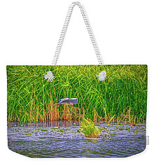 Weekender Tote Bag featuring the photograph Passing.  by Leif Sohlman