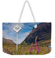 Passing Place Weekender Tote Bag