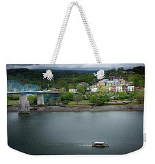 Passing Storm In Chattanooga Weekender Tote Bag