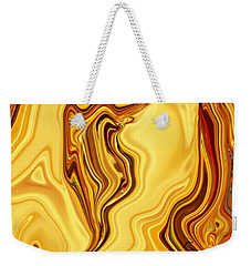 Weekender Tote Bag featuring the digital art Passion by Rabi Khan