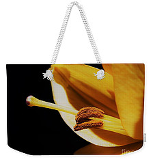 Passionate Yellow Lily Weekender Tote Bag