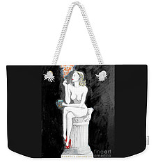 Passive Smoking Weekender Tote Bag