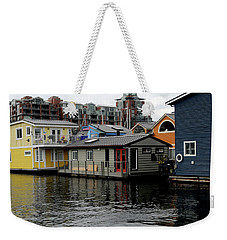 Weekender Tote Bag featuring the photograph Past And Present Architecture by Haleh Mahbod