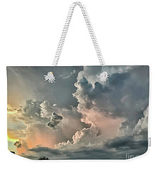 Pastel Clouds Weekender Tote Bag