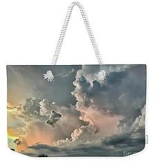 Pastel Clouds Weekender Tote Bag by Walt Foegelle