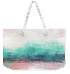 Pastel Coastal Escape-  Art By Linda Woods Weekender Tote Bag