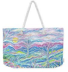 Pastel Country Weekender Tote Bag