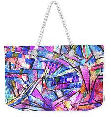 Pastel Kaleidoscope Weekender Tote Bag