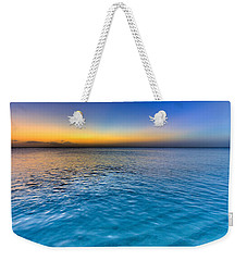 Pastel Ocean Weekender Tote Bag by Chad Dutson