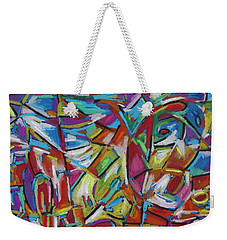 Pastel Palace Weekender Tote Bag