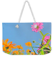 Pastel Poppies Weekender Tote Bag