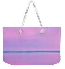 Pastel Shades Of An Icelandic  Winter Sunset. Weekender Tote Bag