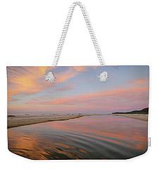 Pastel Skies And Beach Lagoon Reflections Weekender Tote Bag