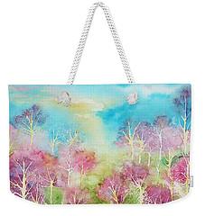 Pastel Spring Weekender Tote Bag