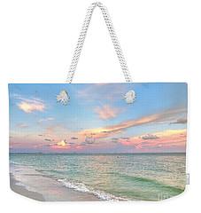 Pastel Sunset On Sanibel Island Weekender Tote Bag