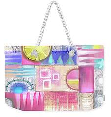Pastel Symmetry Weekender Tote Bag