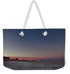 Pastel Winter Weekender Tote Bag