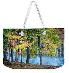 Pastoral River Weekender Tote Bag