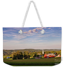 Pastoral Summer Evening Weekender Tote Bag