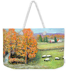 Pasture Happy Weekender Tote Bag