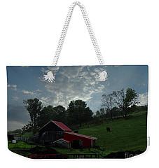 Pasture Under Elements Weekender Tote Bag